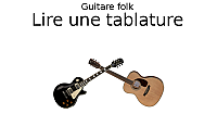 Lire une tablature de guitare