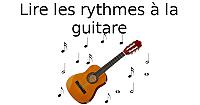 Lire les rythmes à la guitare