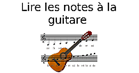 Lire les notes à la guitare