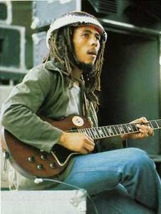 Bob Marley, accord barré avec le pouce